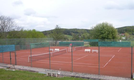 Tennisplatz des TC-Ilztal