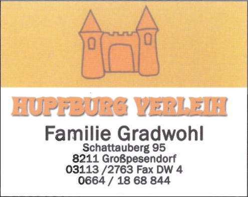 Hupfburgverleih Gradwohl